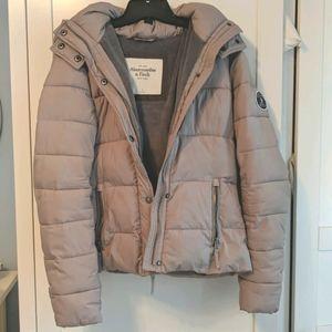 A&F puffer coat
